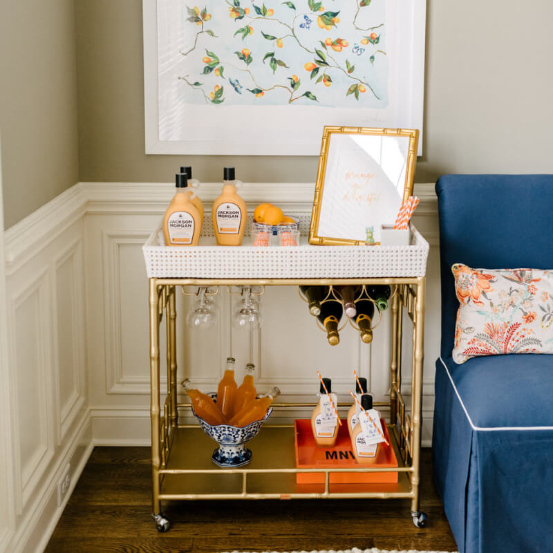 Cheers to Creating the Perfect Bar Cart (No Alcohol Needed)