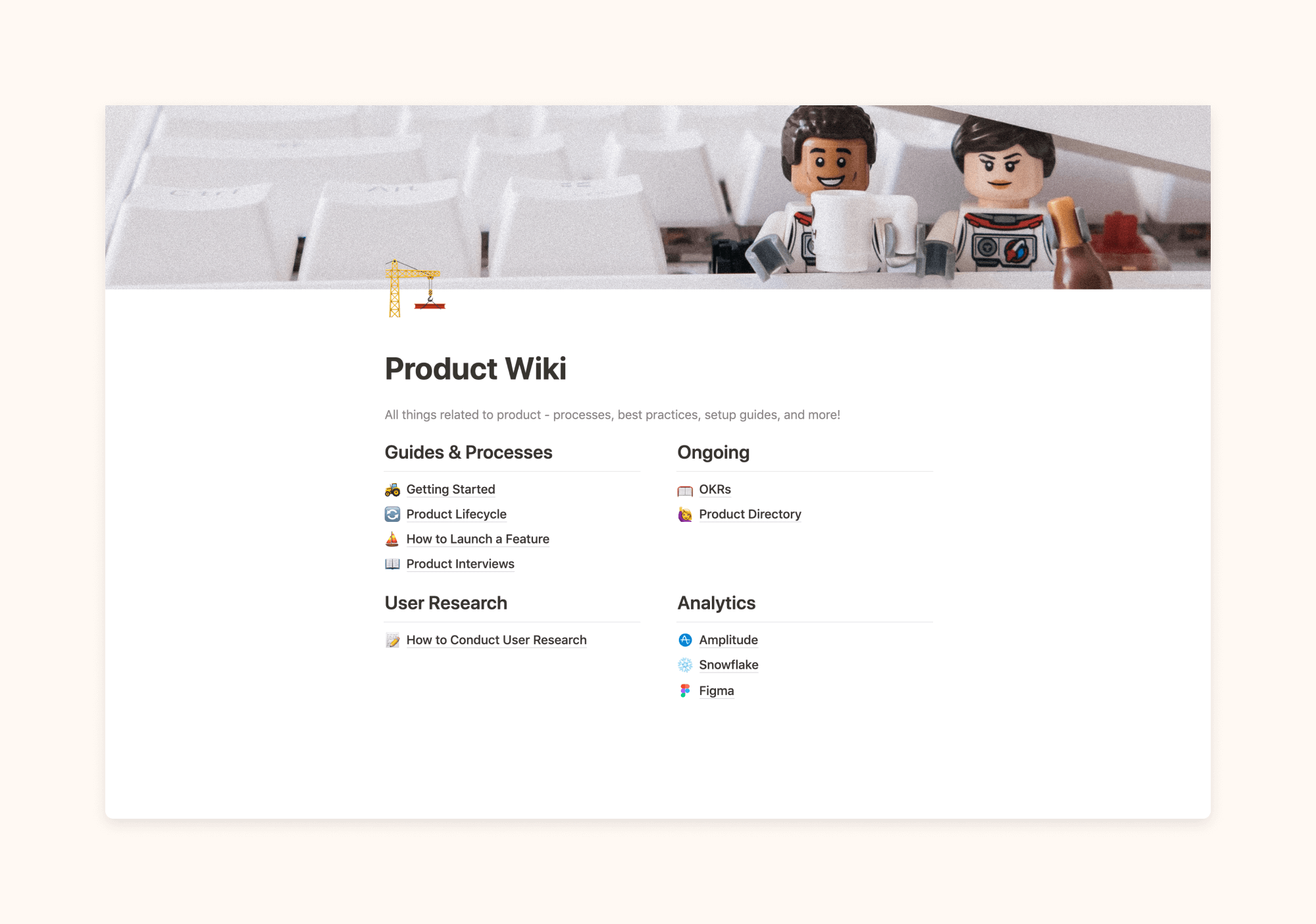 Product Wiki