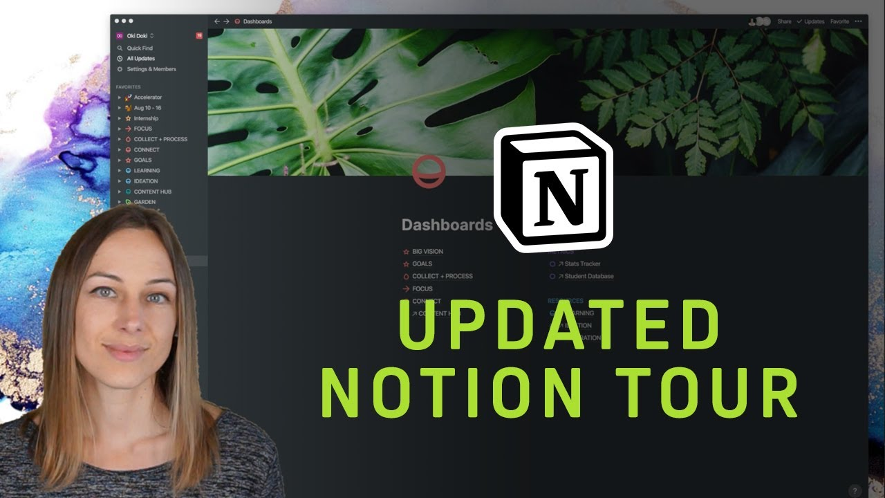 Updated Notion Tour - How I am using PARA to organize my workspace