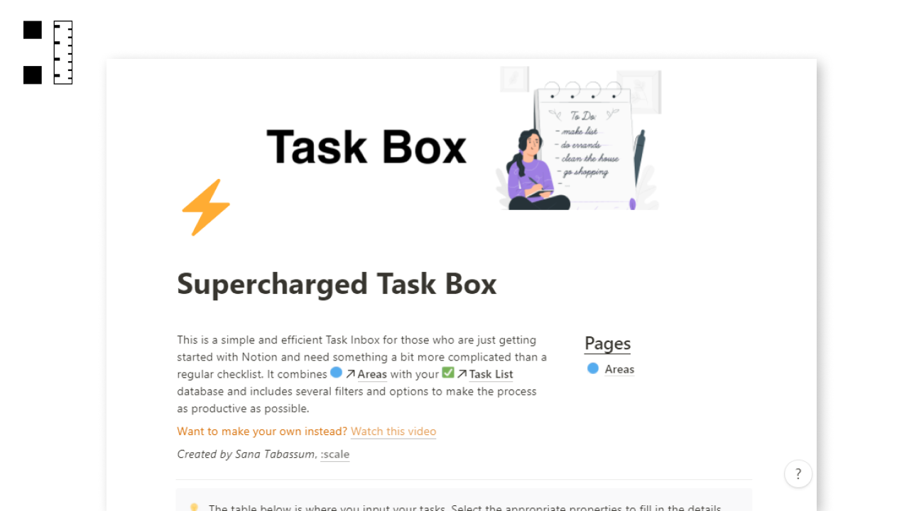 Supercharged Task Box