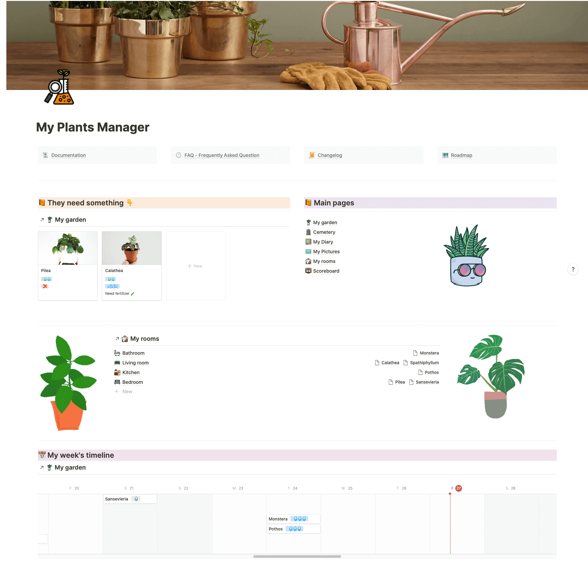 Plants Manager
