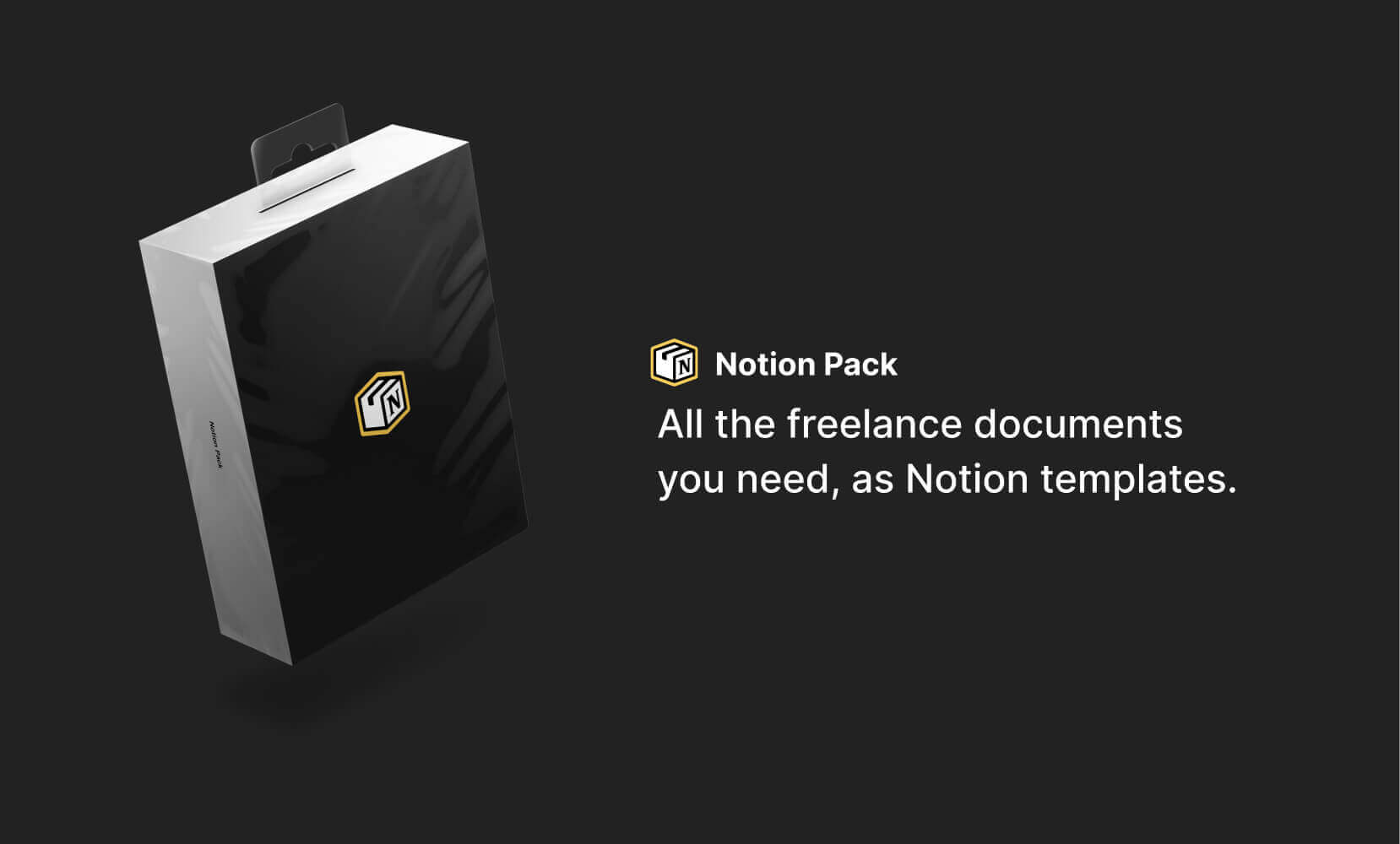 Notion Pack - Freelance templates