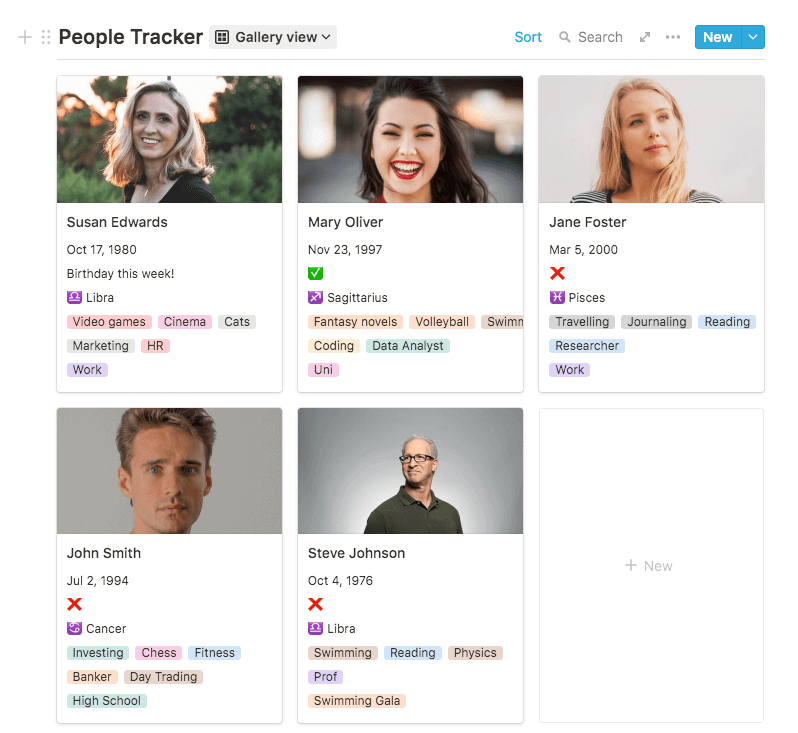 People Tracker / Personal CRM