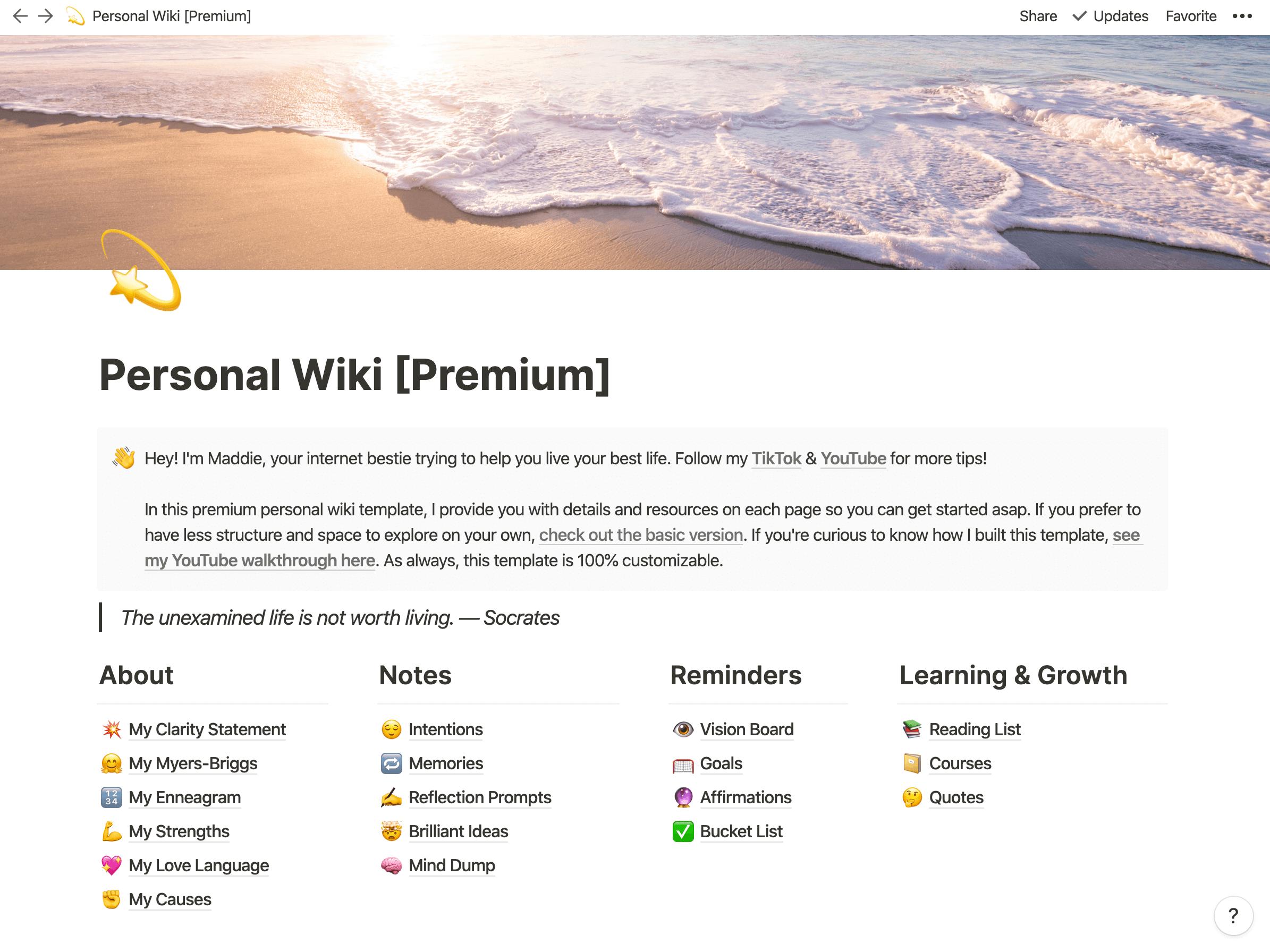 Premium Personal Wiki