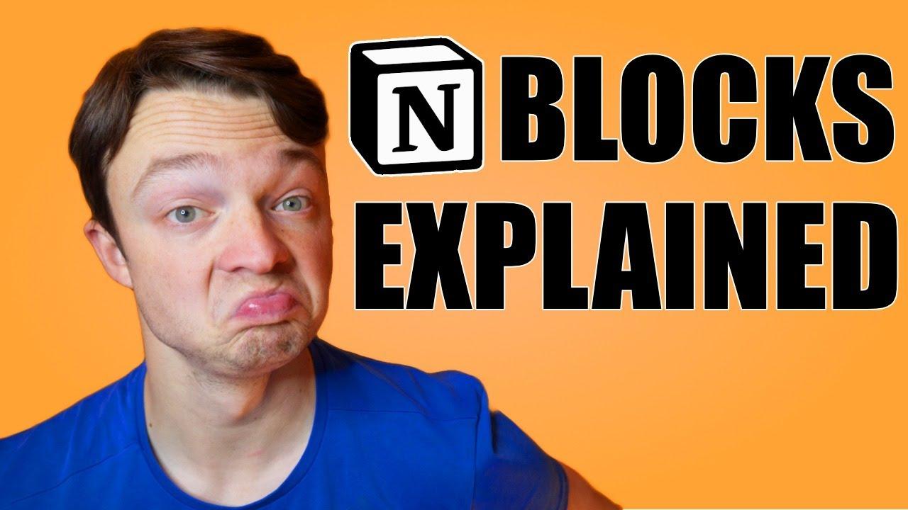 Notion Blocks BEGINNERS GUIDE \\ all the basic blocks explained