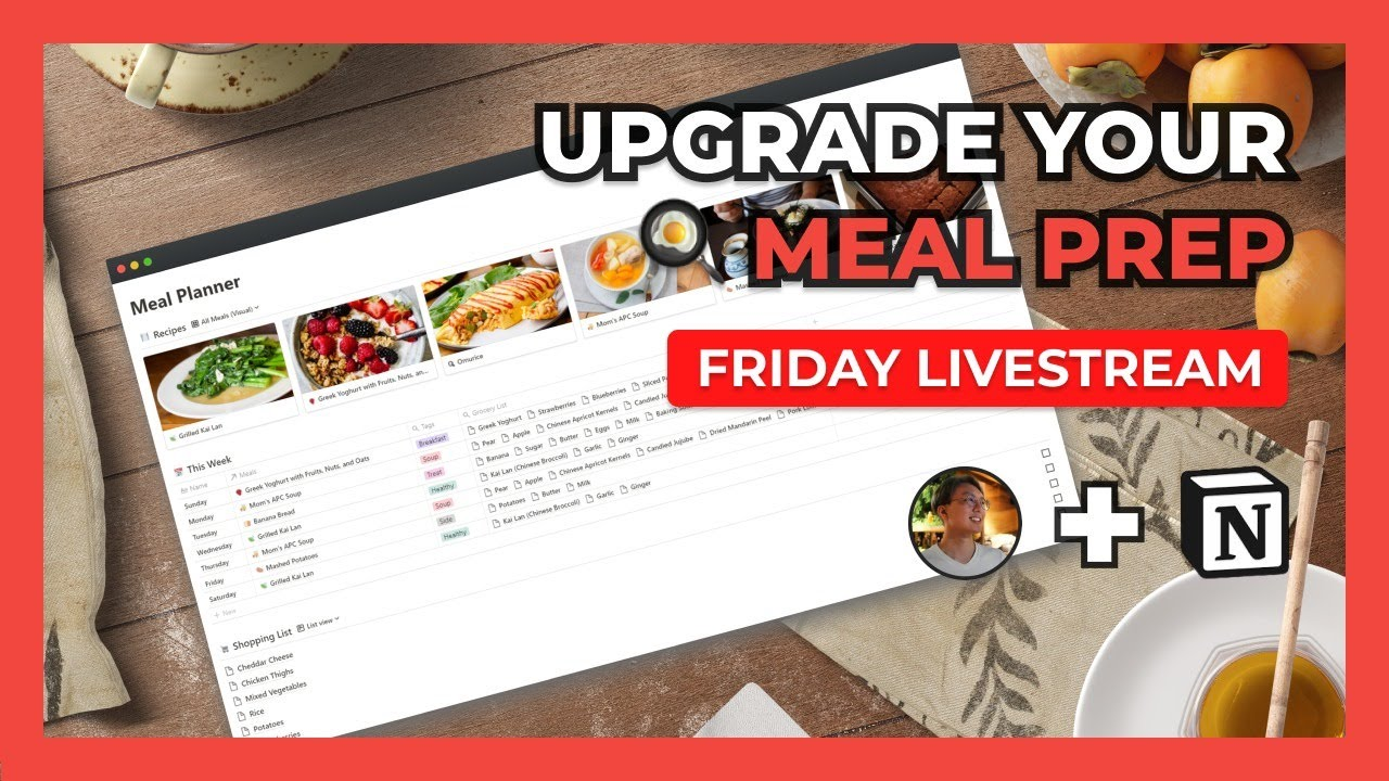 Building A Kickass Recipe Box + Meal Planner In Notion