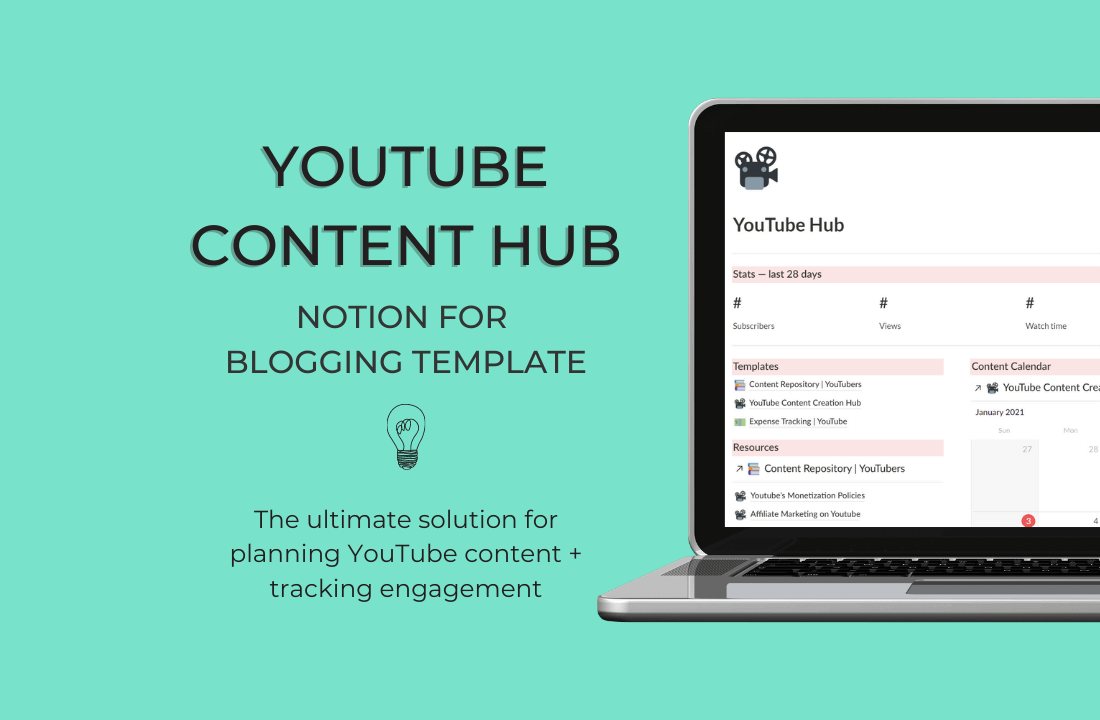 YouTube Hub Bundle