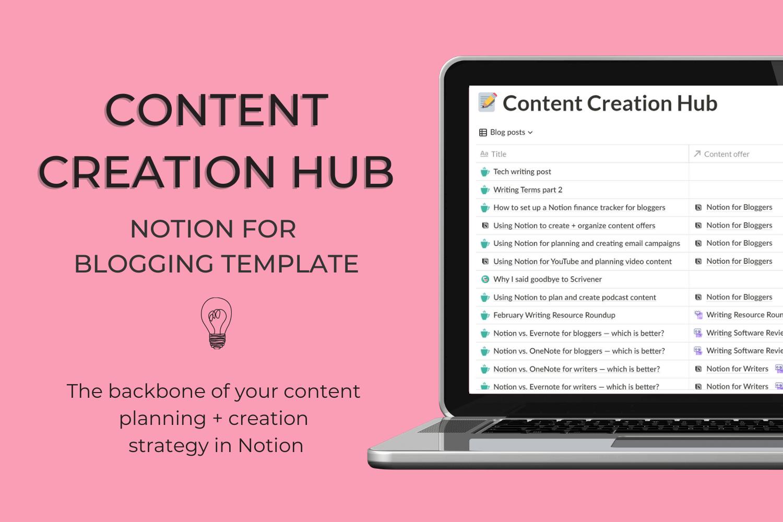Content Creation Hub