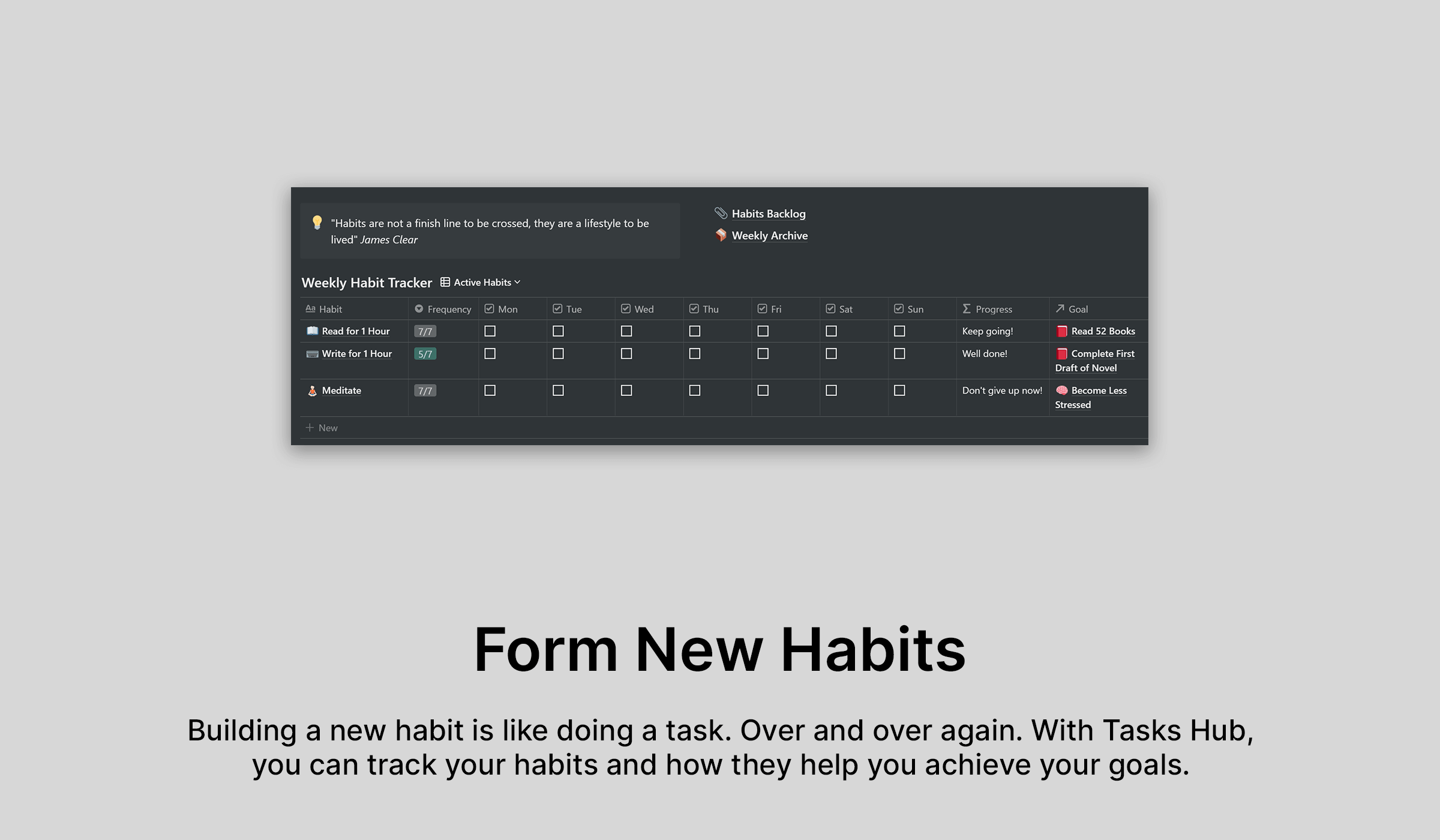 Notionable Tasks Hub