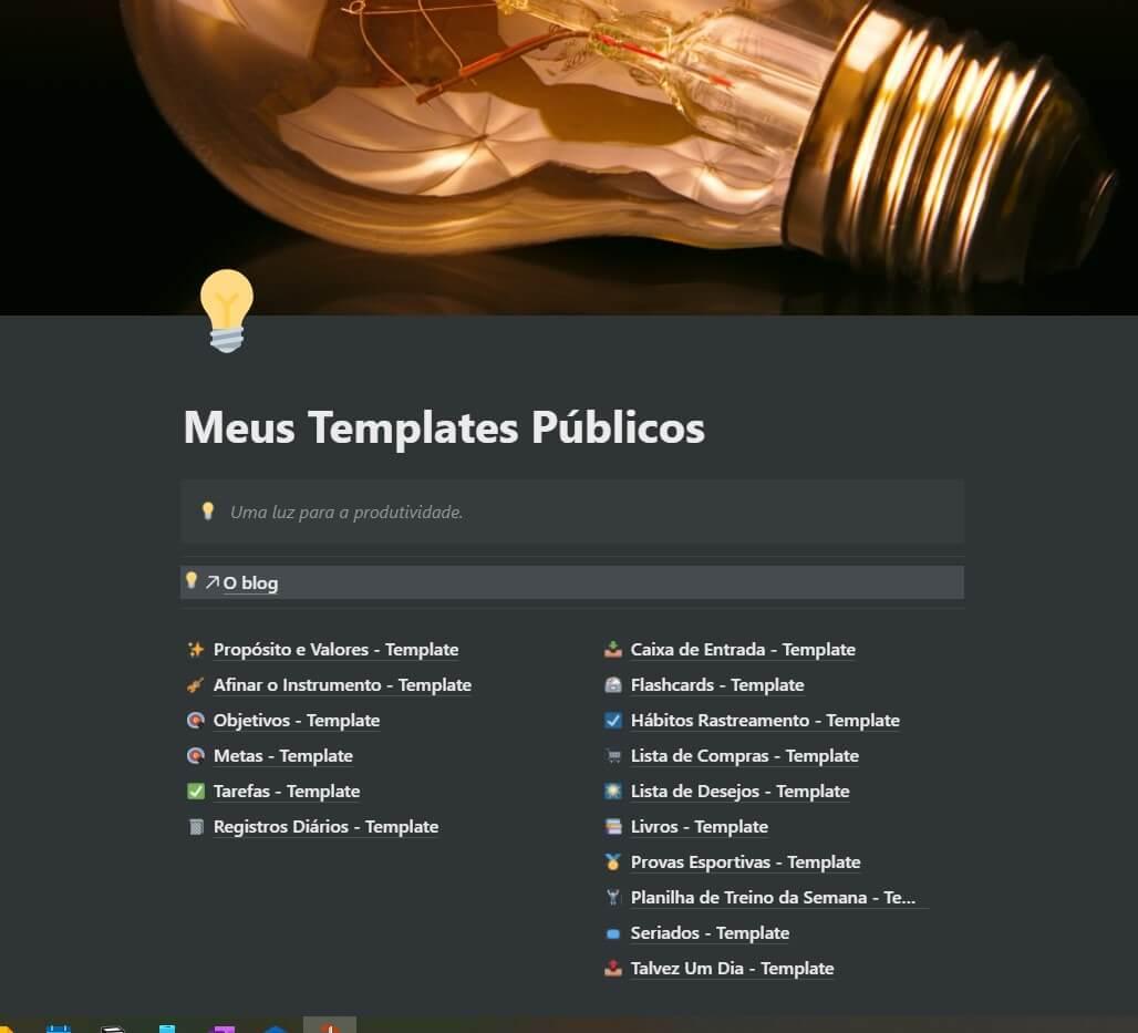 COMBO Templates em Português