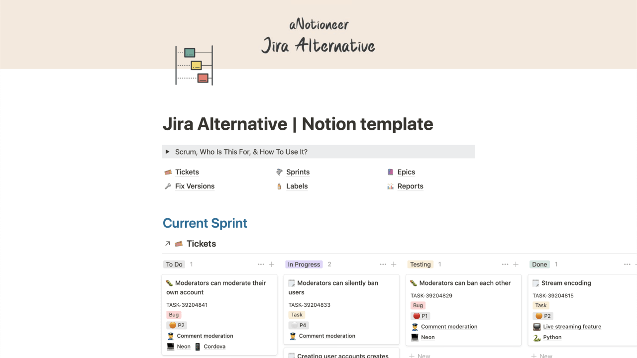 Jira Alternative