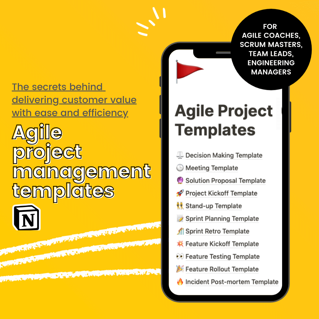Agile Project Management  Templates