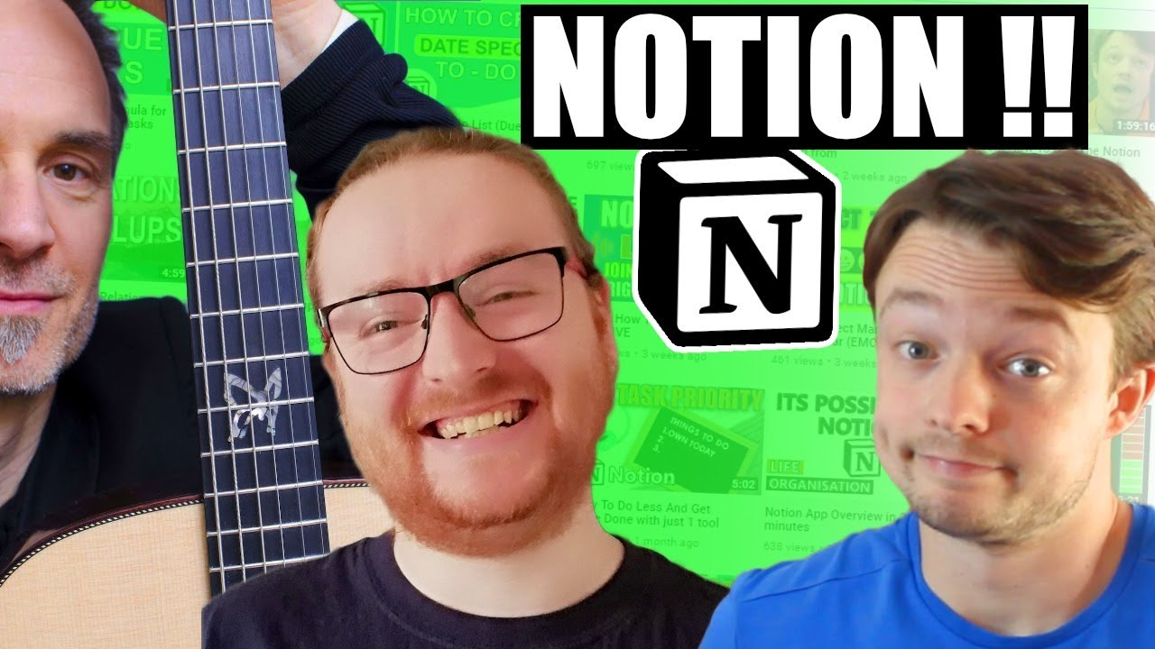 Some Notion Use Cases within MUSIC // LIVE Conversation with Q & A