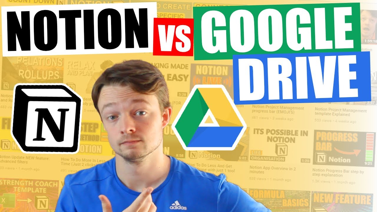 NOTION v GOOGLE DRIVE | In depth comparison