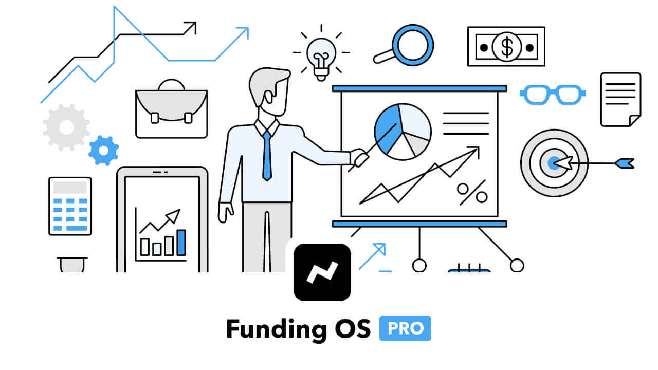 Funding OS Pro (Fundraising CRM + 25,000 investor contacts)