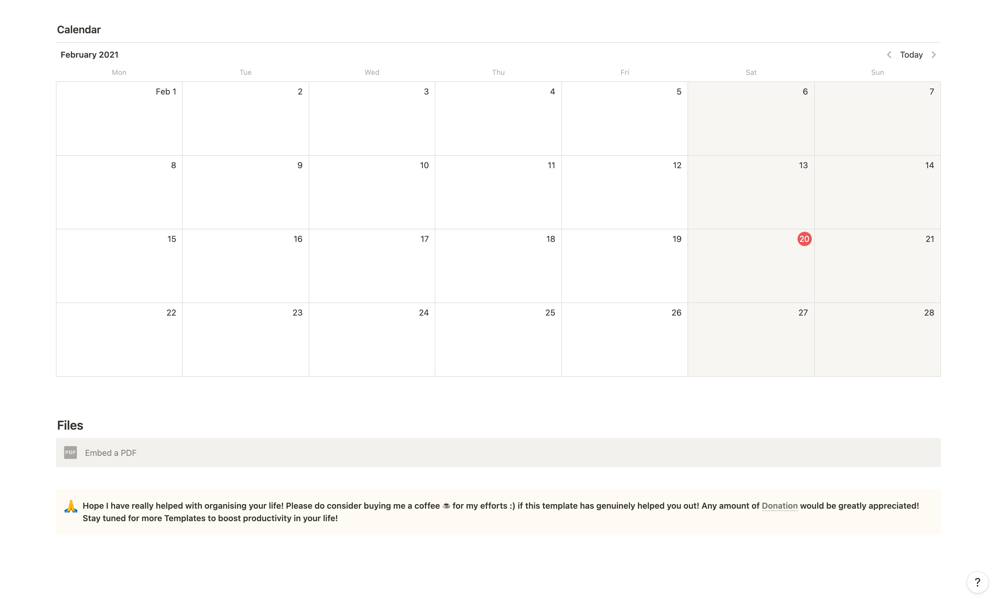 The Perfect Template for University or College Application