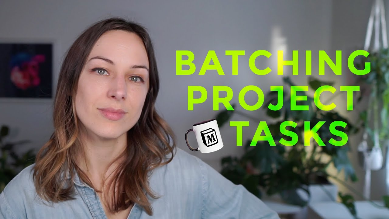 Project task batching with Notion
