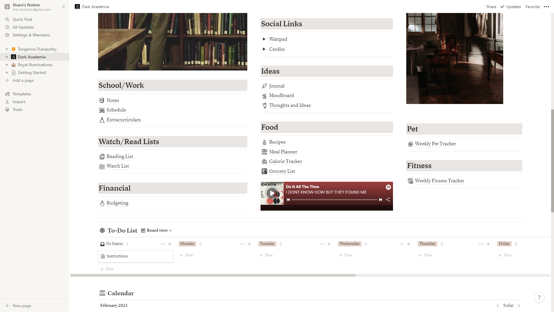 Life Wiki (Dark Academia Aesthetic)