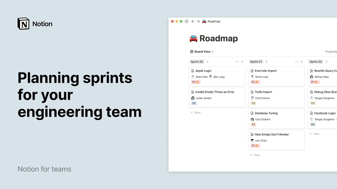 Planning sprints for your engineering team