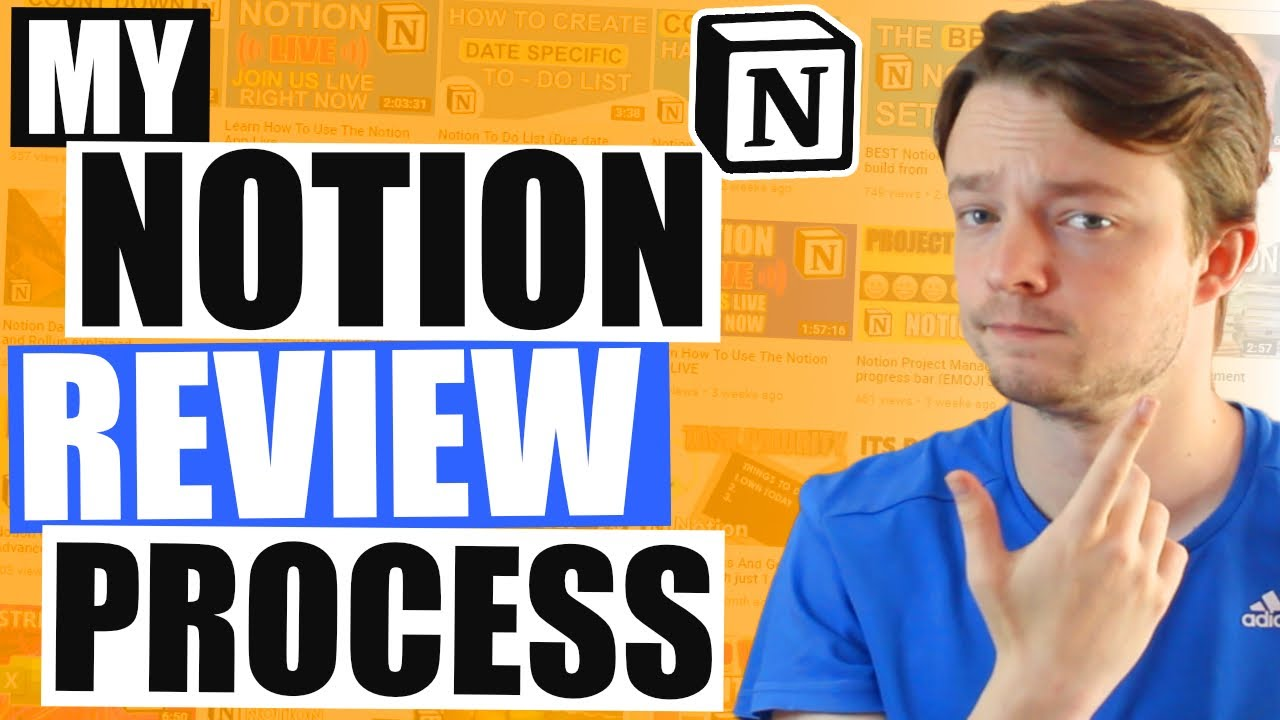 My NOTION REVIEW PROCESS for a Daily, Weekly and Monthly review