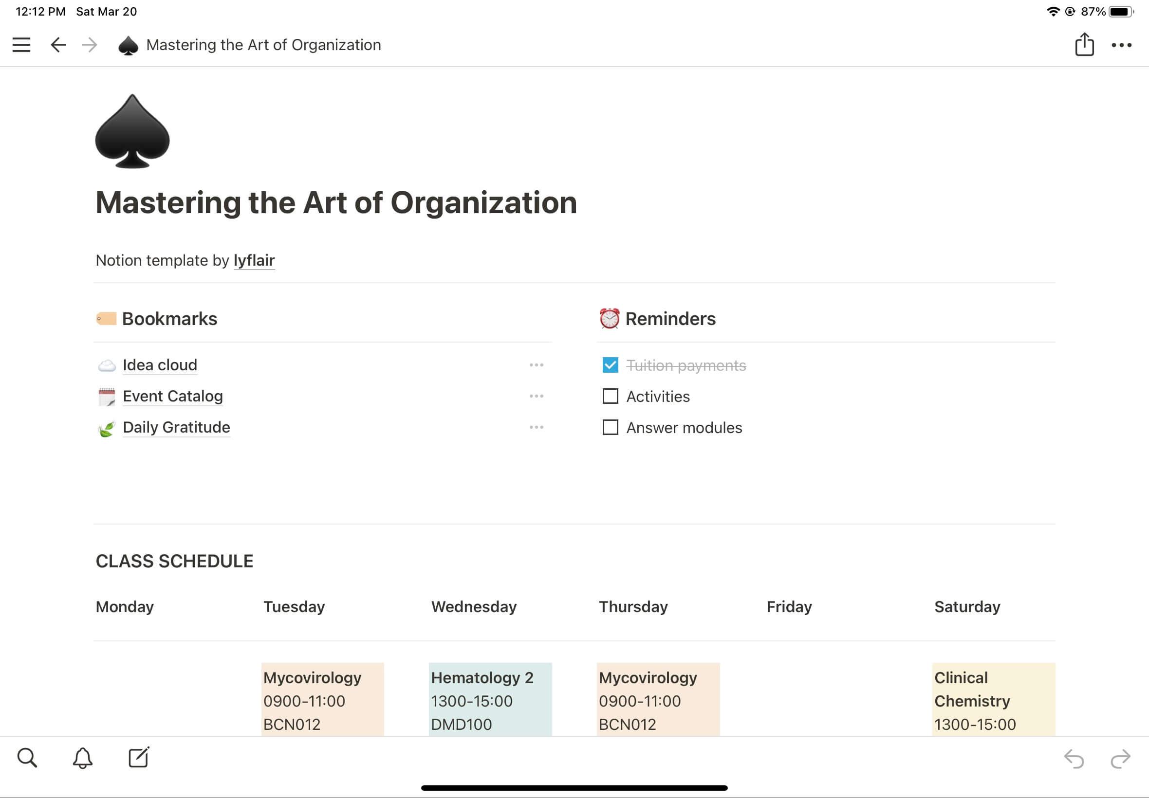 Academic Organization