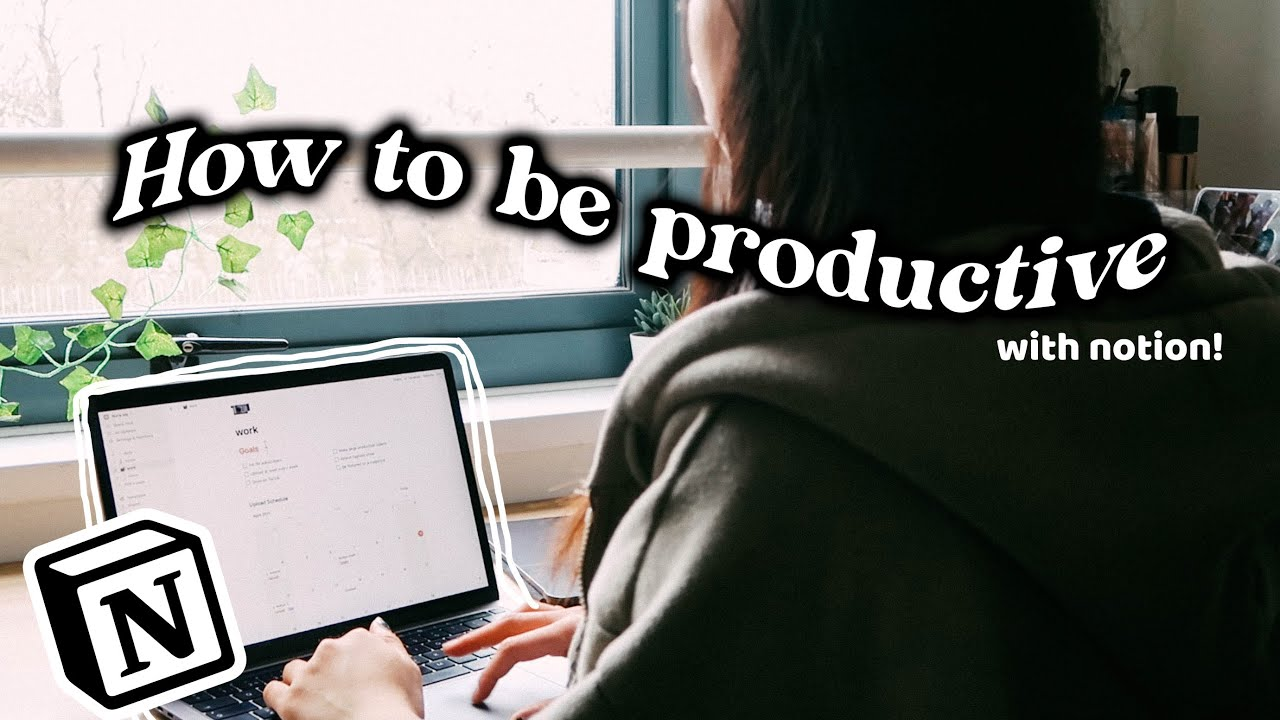 how i use notion to be organized & productive | NOTION TOUR