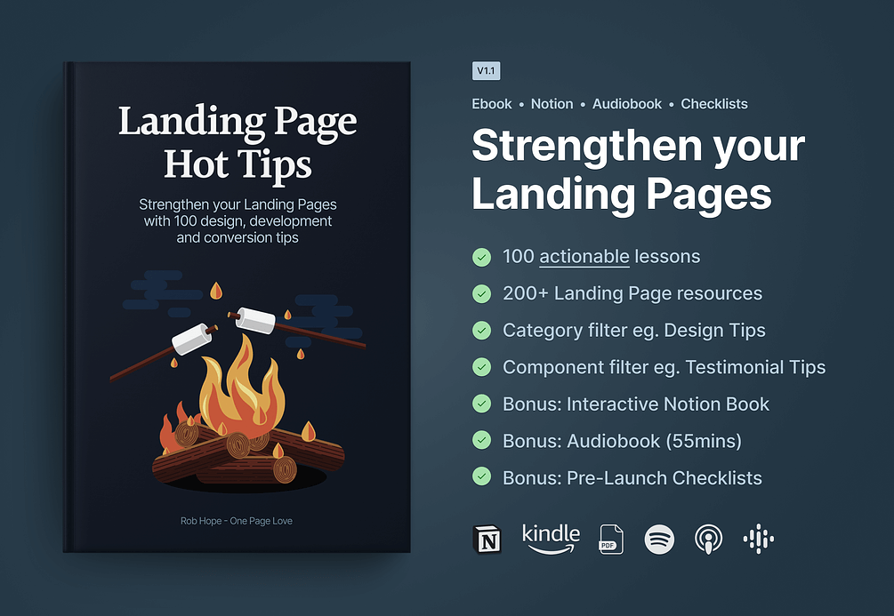 Landing Page Hot Tips