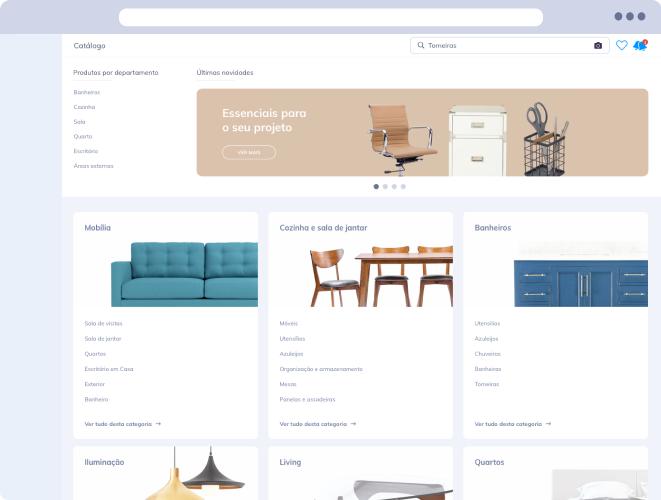 catálogo de produtos arquitetura e design vobi
