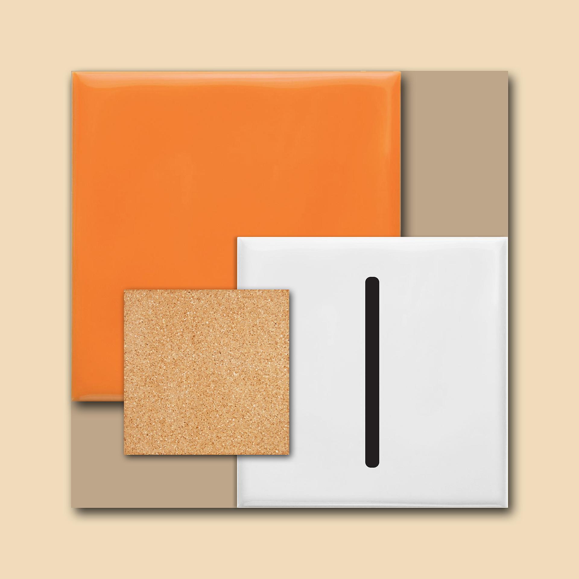moodboard minimalista colorido