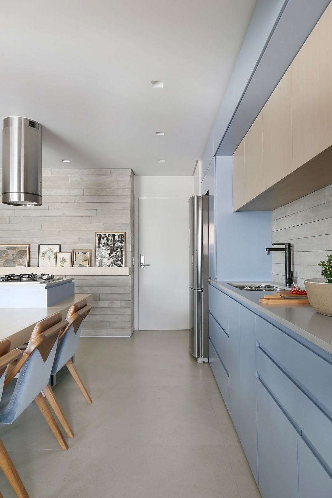 cozinha parede pedra
