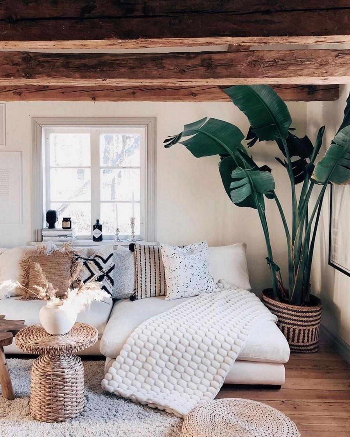 sala estar revestimento madeira