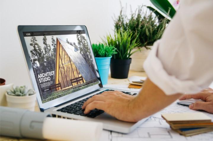 Site para Arquitetos