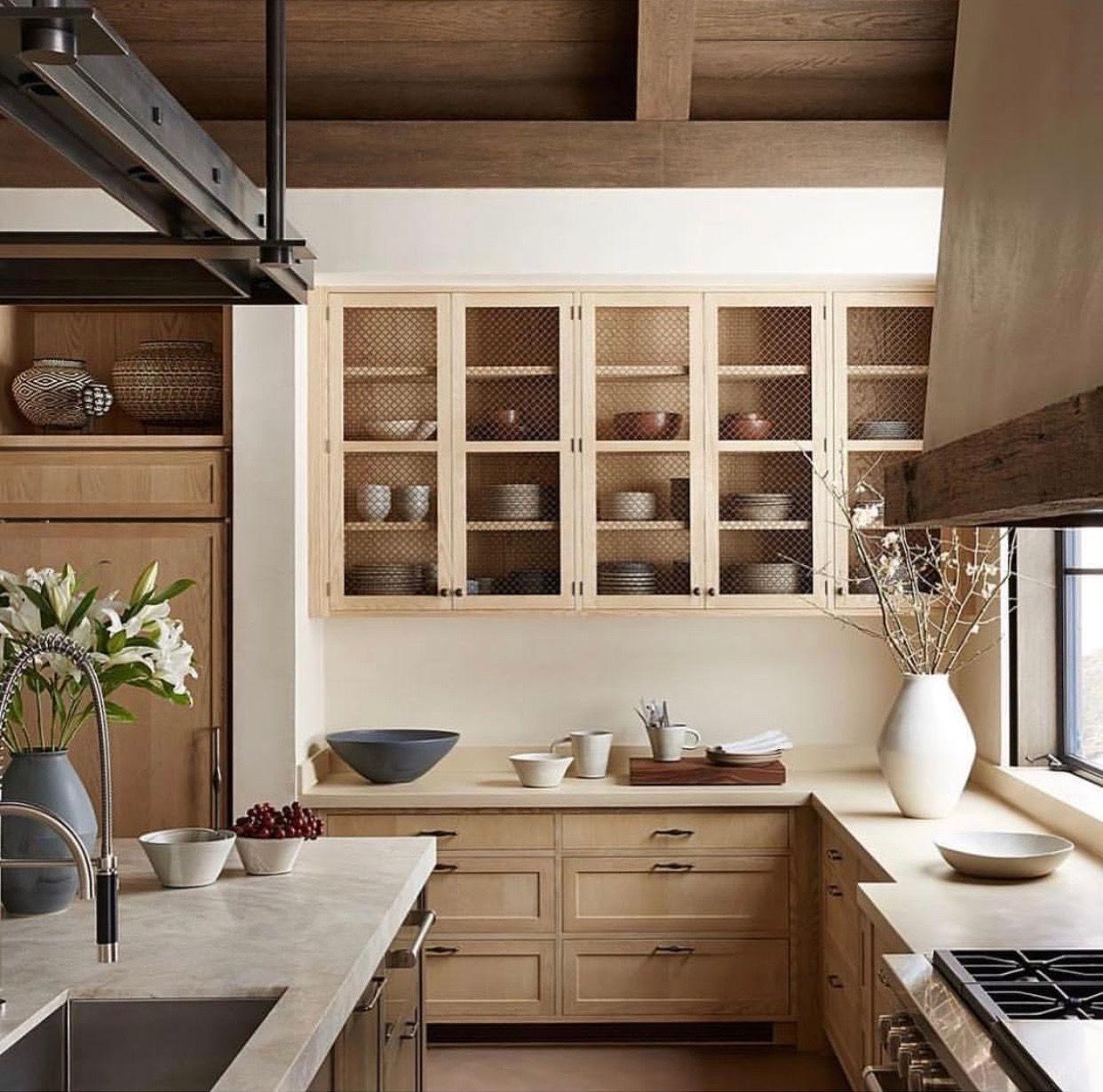 cozinha armários em madeira
