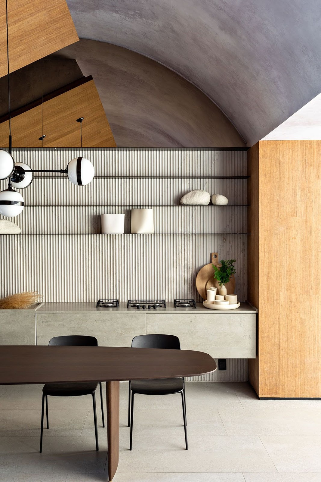 cozinha estilo japandi