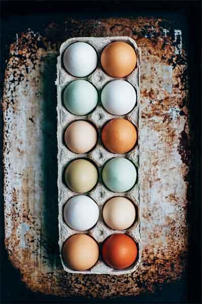 12 Fresh eggs