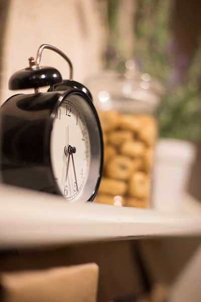 Sleep disorder alarm clock