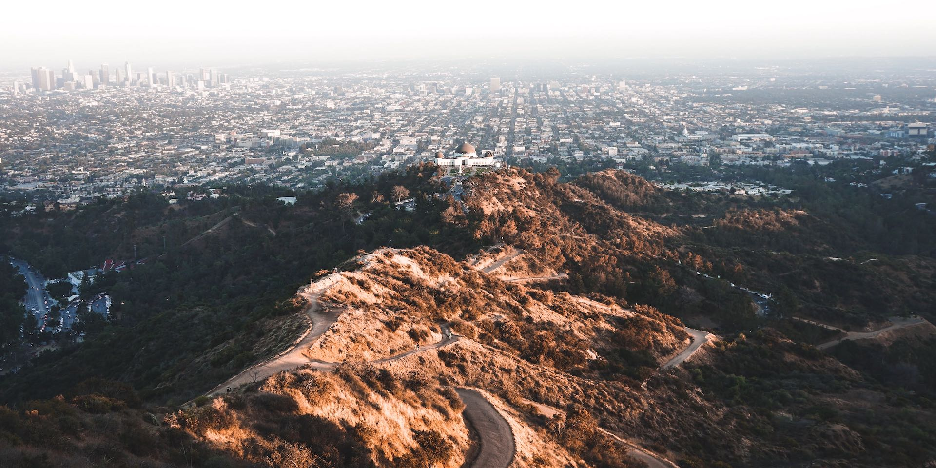 A panoramic vista of Los Angeles