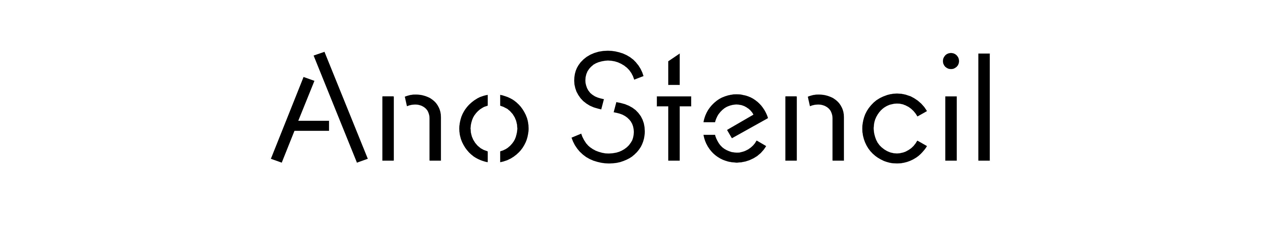 Ano Stencil