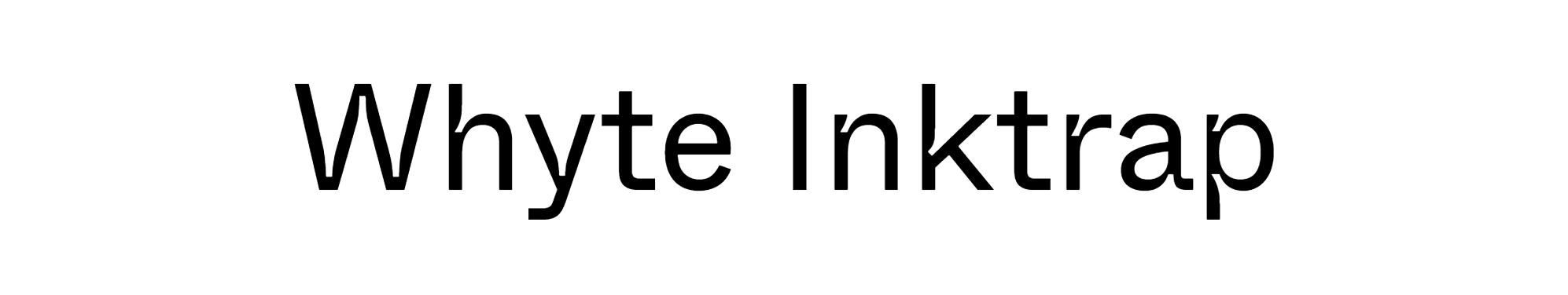 Whyte Inktrap