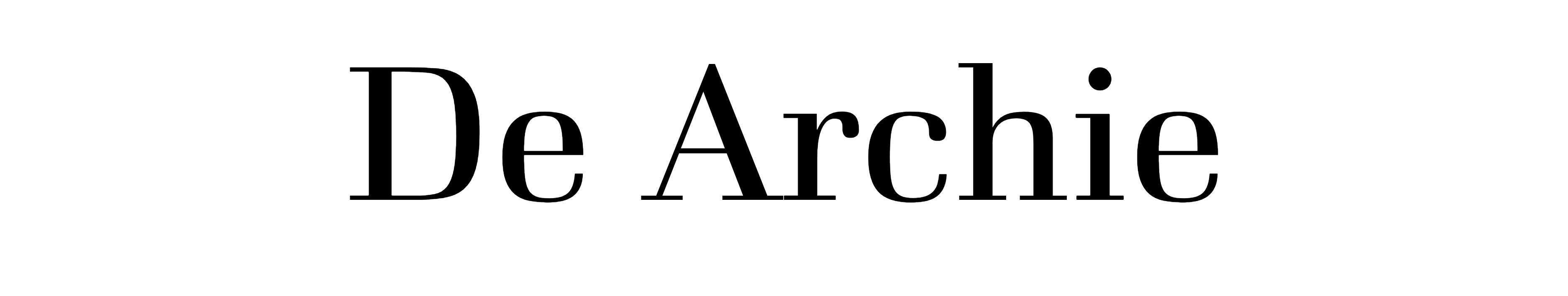 De Archie