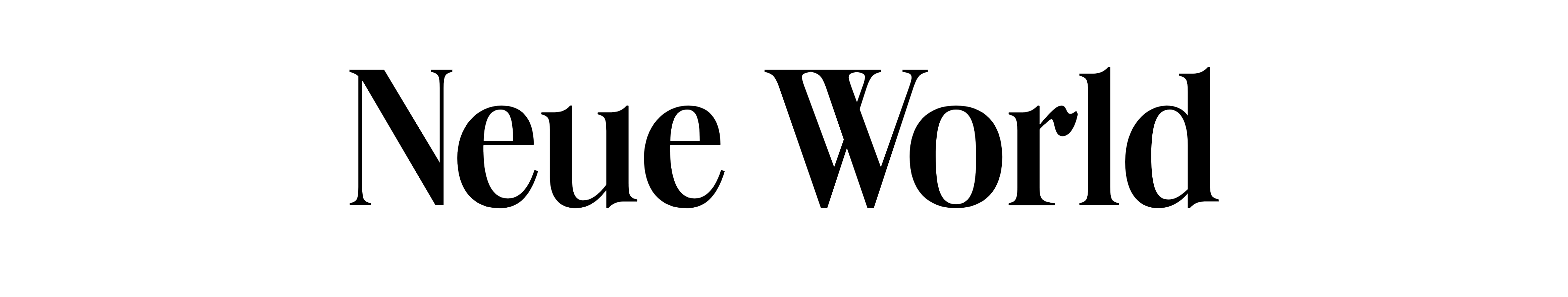 Neue World