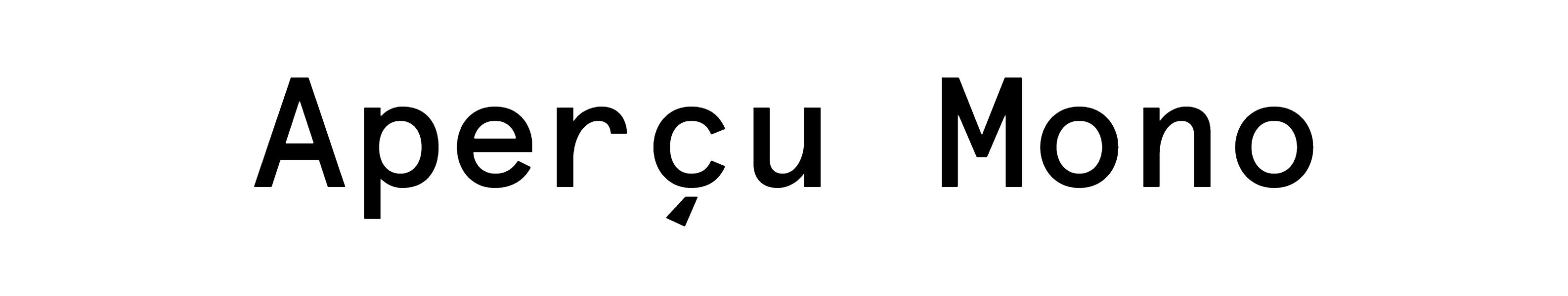 Apercu Mono