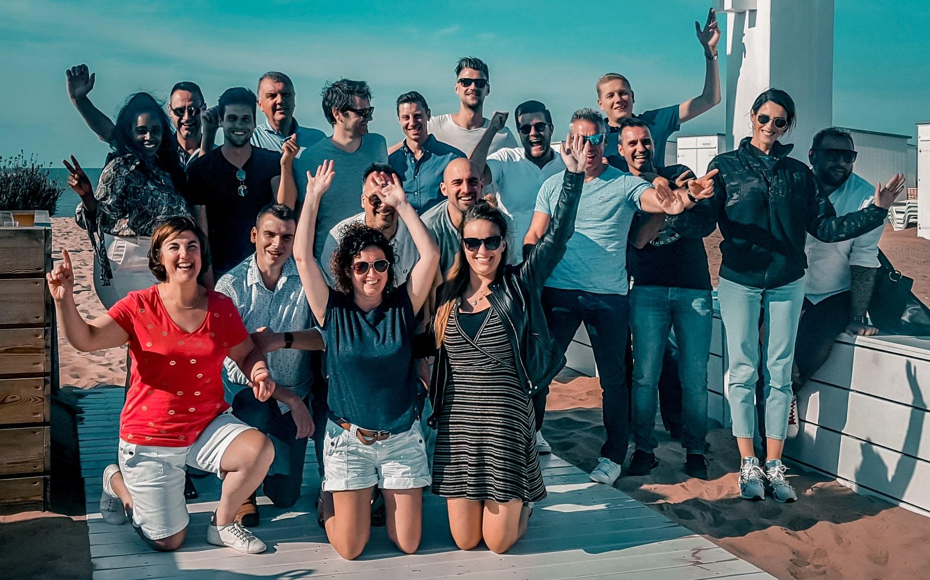 Alcobrands team group photo