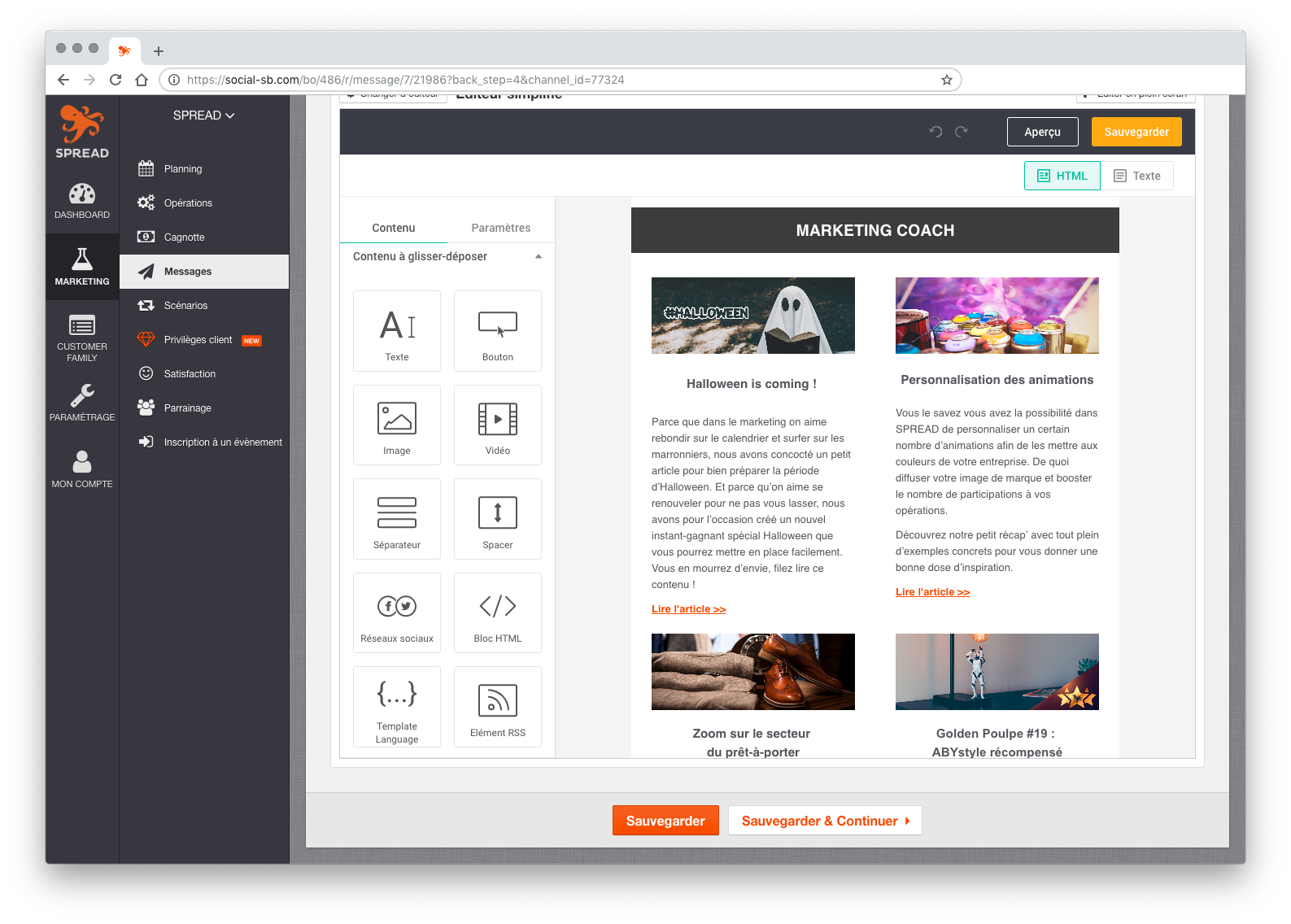 logiciel création emailing newsletters