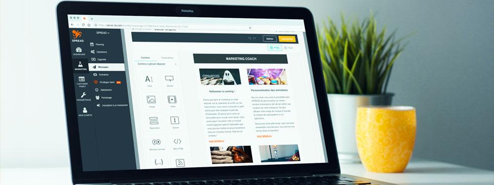 Comment réussir vos emailing et les intégrer à votre stratégie marketing (avec SPREAD)