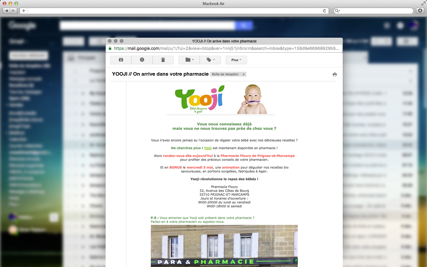emailing ciblage géographique