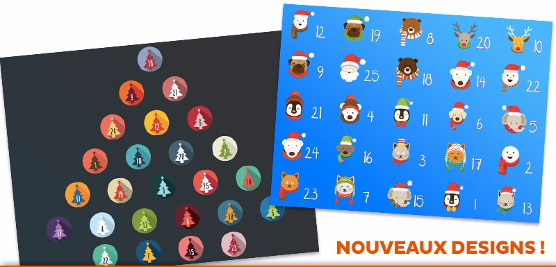 opération marketing noel calendrier