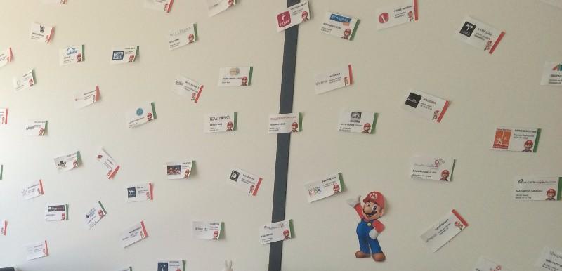 le mur de clients