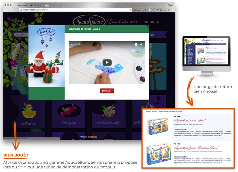 Opération marketing Noël Sentosphère