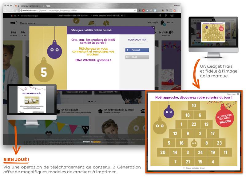 Opération marketing Noël Z Generation